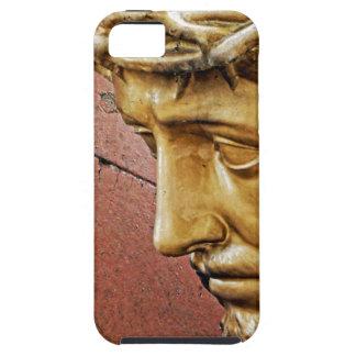 Jesus die het kruis dragen tough iPhone 5 hoesje