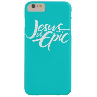 Jesus is het Epische Van letters voorzien Barely There iPhone 6 Plus Hoesje
