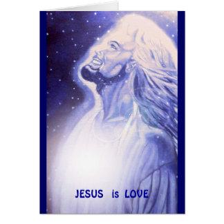 JESUS   is LIEFDE Kaart