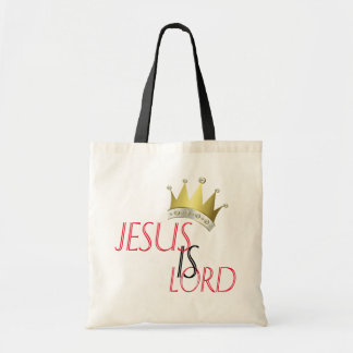 Jesus Is Lord Budget Tote Draagtas