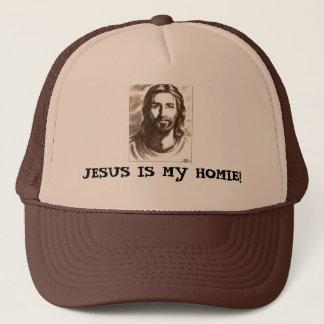 JESUS IS MIJN HOMIE! TRUCKER PET