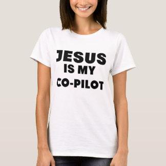 Jesus is mijn mede pilot.png t shirt