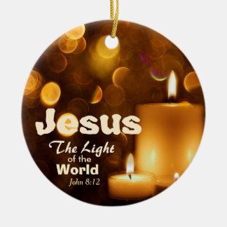 Jesus Light van het Ornament van het Vers van de