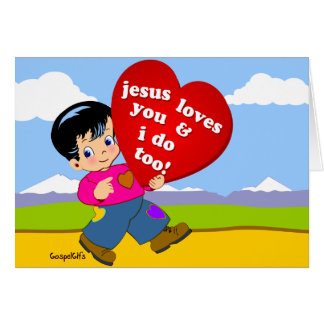 Jesus Loves You & ook ik! Briefkaarten 0