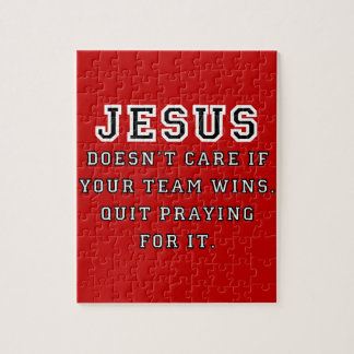 Jesus: Niet een zwart-Wit van de Ventilator van Puzzel