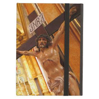 Jesus op het kruis iPad air hoesje