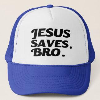 Jesus Saves grappig Bro Trucker Pet