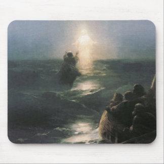 Jesus Walking op Water, het Schilderen van Ivan Muismatten
