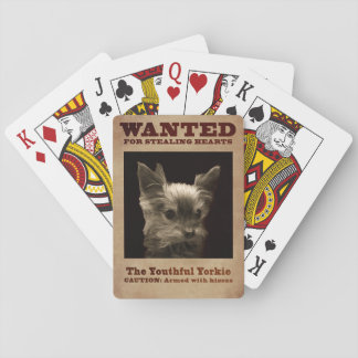 Jeugdige Yorkie Speelkaarten