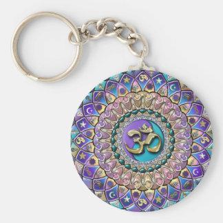 Jeweled Astrosymbology Mandala Keychain Sleutelhanger
