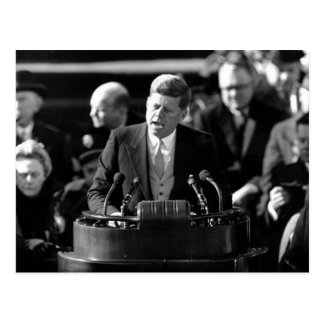JFK Inauguaration Briefkaart