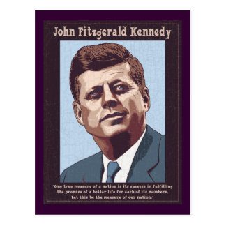 JFK - Maatregel Briefkaart