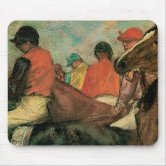 Jockeys door Degas Muismat