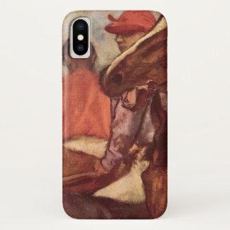 Jockeys door Edgar Degas, het Vintage Art. van iPhone X Hoesje