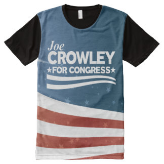 Joe Crowley Volledig Bedrukte T-shirts
