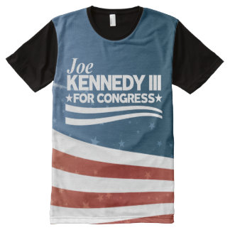 Joe Kennedy III All-Over-Print T-shirt