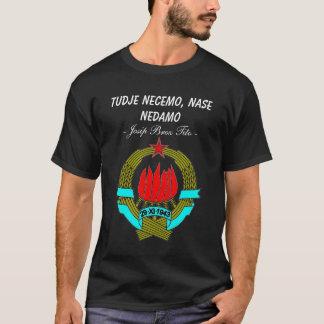 Joegoslavië vertegenwoordigt t shirt
