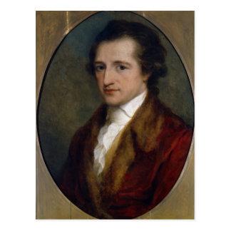 Johann Wolfgang von Goethe, 1775 Briefkaart
