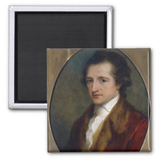 Johann Wolfgang von Goethe, 1775 Vierkante Magneet