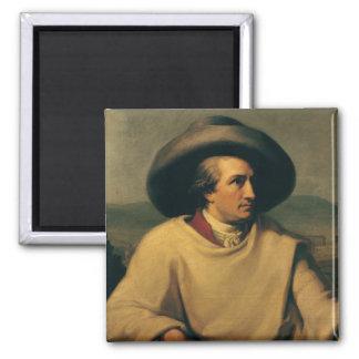 Johann Wolfgang von Goethe Vierkante Magneet