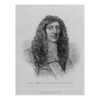 John Aubrey, door Charles dat Eden Wagstaff wordt Briefkaart