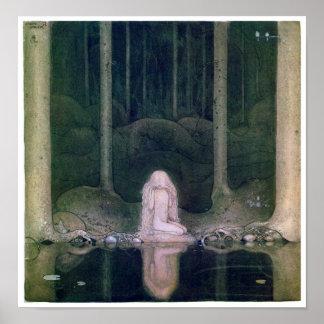 John Bauer (1913) Poster Tuvstarr