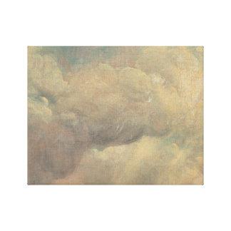 John Constable - de Studie van de Wolk Canvas Prints
