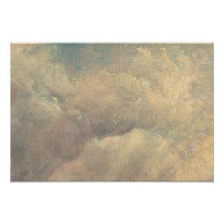John Constable - de Studie van de Wolk Foto