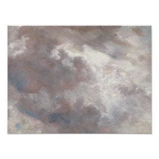 John Constable - de Studie van de Wolk Foto Afdrukken