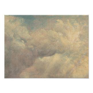 John Constable - de Studie van de Wolk Foto Print