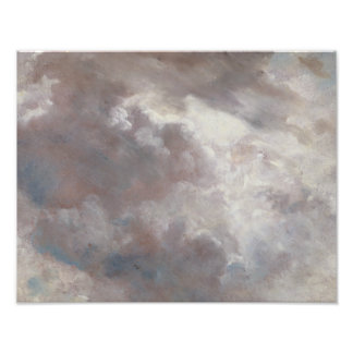 John Constable - de Studie van de Wolk Fotoafdrukken