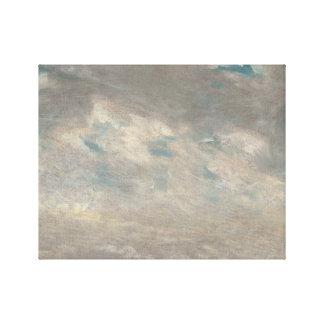 John Constable - de Studie van de Wolk Gallerij Wrap Canvas