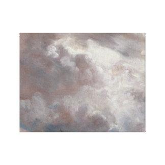 John Constable - de Studie van de Wolk Gallerij Wrapped Canvas