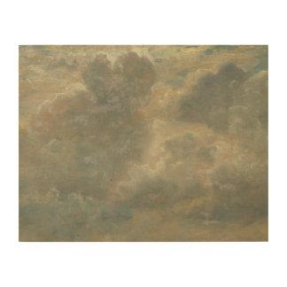 John Constable - de Studie van de Wolk Hout Afdrukken