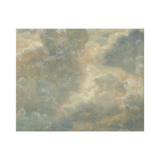 John Constable - de Studie van de Wolk Stretched Canvas Prints