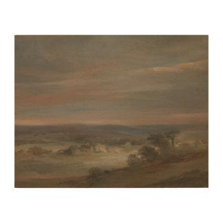 John Constable - een Uitzicht op Dopheide Hout Afdrukken