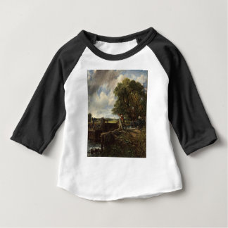 John Constable - het Slot - het Landschap van het Baby T Shirts
