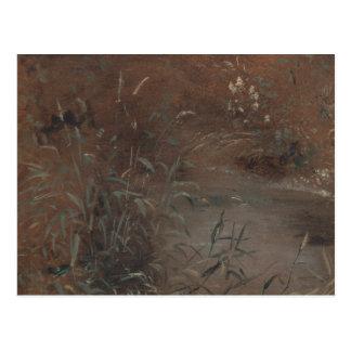 John Constable - Stormlopen door een Pool Briefkaart