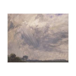 John Constable - Studie van een Bewolkte Hemel Gallerij Wrap Canvas