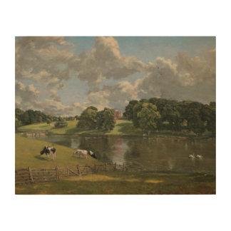 John Constable - Wivenhoe Park, Essex Hout Prints