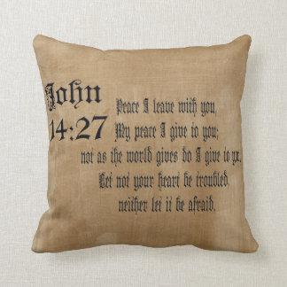 John de Christelijke   Gift van de Douane van het Sierkussen