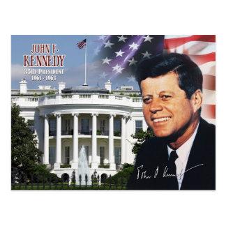 John F. Kennedy - 35ste President van de V.S. Briefkaart