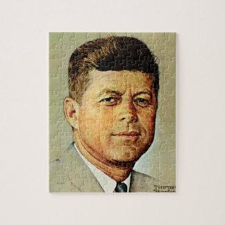John F. Kennedy IN MEMORIAM Legpuzzel