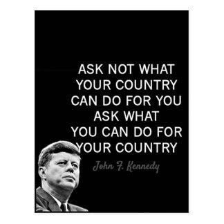 John F Kennedy Motivatie Citaten Briefkaart