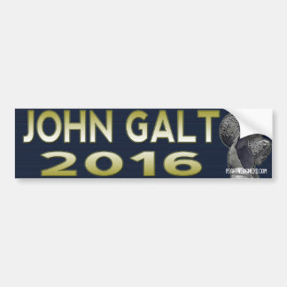 John Galt 2016 bumpersticker