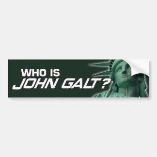 John Galt Bumpersticker