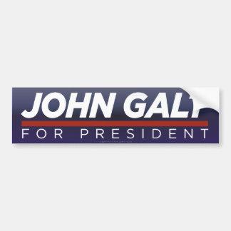 John Galt voor de Sticker van de Bumper van het Pr