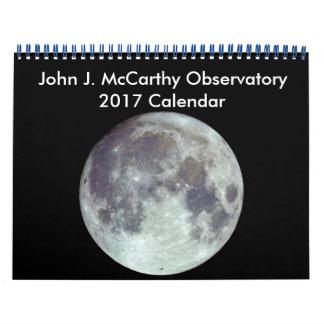 John J. McCarthy Observatory 2017 Kalender