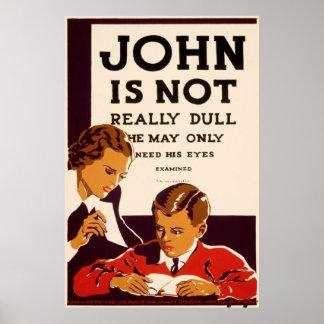 examen John is een aarslikker