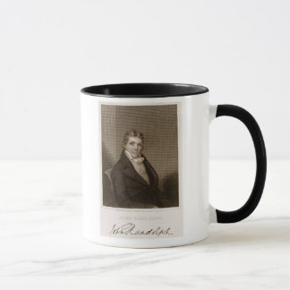 John Randolph (1773-1833) graveerde door Thomas B. Mok